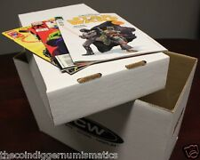 Short Cardboard Comic Book Storage Box Holds 150-175 Comics BCW Stackable Boxes