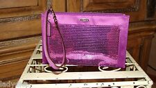 NWOT COACH MULBERRY OCCASION SEQUIN PARTY CLUTCH WRISTLET ~ F49887  SWEET!