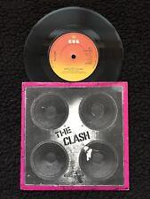 "The Clash-Contrôle Complet/The City of the Dead 7"" vinyl pic manche CBS 5664"