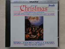 Baroque Christmas Concertos & Cantatas - Nemeth - CD solid silver West Germany