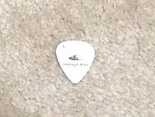 Pearl Jam Mike McCready Hockey Talkter Guitar Pick Lightning Bolt Tour White