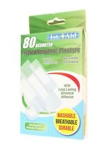 FIRST AID HYPOALLERGENIC PLASTERS BANDAGE X 80 ASSURED GENUINE GOOD