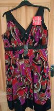 Silk Party Sleeveless Tunic Dresses for Women