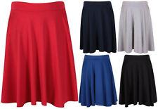 Plus Knee-Length Full Skirts for Women