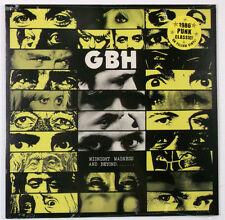 G.B.H. - Midnight Madness and Beyond LP Record Vinyl - BRAND NEW Yellow Re-Issue