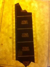 Star Wars Film Cell Clip Rarest  TITLE FRAME Early Teaser Trailer '77Rogue one 2