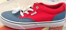 Vans Winston 2 toni blu rosso UK 5 Nuovo Con Scatola Ragazzi Ragazze Donna Scarpe da ginnastica skateshoe