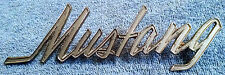 "Mustang Ford 1969 ""Mustang"" Emblem OEM Fender or Truck Lid FREE SHIPPING"