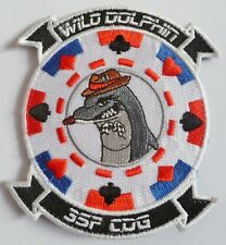 Insigne Patch AERONAVALE FLOTTILLE 35 F WILD DOLPHIN CDG ORIGINAL MARINE FRANCE