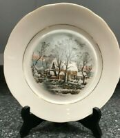 Lovely Vintage Avon 1977 Christmas Plate. Crown Bavaria, Germany 8""