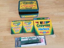 Crayola Crayons – Markers – Pencils – Drawing Pad