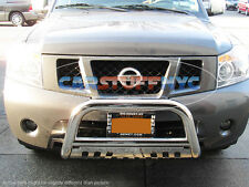 For 2008-2012 Nissan Pathfinder Bull Bar Grille Guard Front Bumper Protector