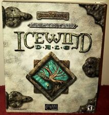 """FORGOTTEN REALMS ICEWIND DALE"" Game (2000) for PC Complete Box Set!!!"
