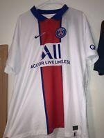 Nike PSG Paris Saint-Germain Vaporknit Match Away 2020-21 Jersey CD4188-101 XL