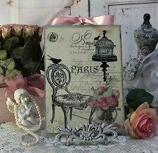 "~ ""Paris..."" ~ Shabby Chic ~ Vintage ~ Country Cottage ~ style Wall Decor Sign ~"