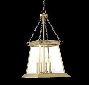 Savoy House 3-941-4-63 Norwich 4 Light Pendant in Warm Brass Lustre New In Box