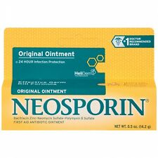 Neosporin Original First Aid Antibiotic Ointment 24 Hr Protection 0.5 oz/14.2 g