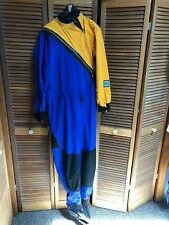 Kokatat Gore-Tex Dura Front Entry Dry Suit Womens Drop Seat and Socks Size Xl