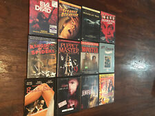 horror dvd movie lot Evil Dead Puppet Master Bordello Of Blood