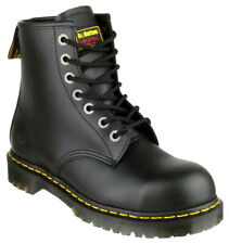 Dr. Martens Steel Toe Safety Boots ICON 7B10 SSF 7 Eye Work Boots Black Size 8