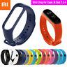 Für XIAOMI MI Band 3 & MI Band 4 Silicon Handschlaufe Armband Armband Ersatz