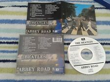 THE BEATLES - Abbey Road HOLLAND CD Digital Remaster with label code on CD