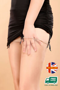Doyeah 10D Glossy Sheer Thigh High Hold-Ups Stockings Oil Shine Sexy UK Seller