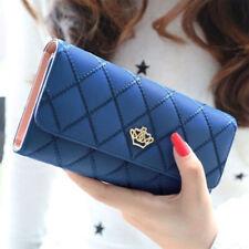 Us Women Ladies Leather Clutch Long Wallet Id Pu Card Phone Holder Purse Handbag