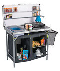 Kampa Chieftain Field Kitchen / Camping / Stove Stand / Storage / Worktop