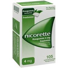 NICORETTE 4 mg freshmint Kaugummi 105 St PZN 3643454