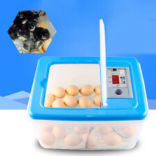 New listing Auto Egg Incubator Turner Chicken/Duck/Goose Hatcher Heater Pp Nontoxic Safety