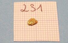 0,075g  Alaska Yukon GOLD NUGGET Gold Nuggets! #231 Barren Goldnugget