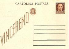 VINCEREMO...................INTERO POSTALE ( 30 centesimi )