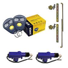 Viper 3100V Keyless Entry Car Alarm System +(2) Universal Door Lock Actuator  00006000