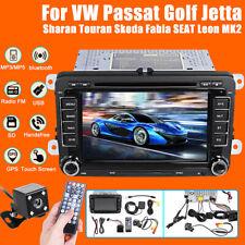 Kit 7'' Autoradio 2DIN DVD Stéréo RDS GPS USB pour VW Passat T5 Golf MK5 MK6