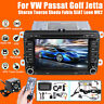Kit 7'' Autoradio 2DIN DVD Stéréo Camera RDS GPS USB pour VW Passat T5 Golf V VI