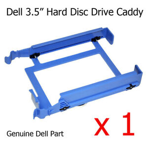 "1 x Dell Dimension E520 Tower 3.5"" Hard Drive Caddy / Tray H7283 YJ221 U6436"