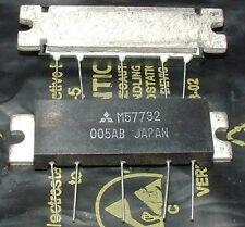 Mitsubishi 144-175mhz 7w Fm Potencia Rf Módulo Amplificador m57732 5 Pines H12