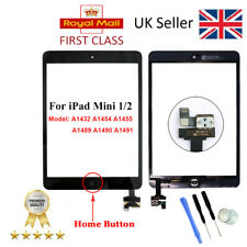 For iPad mini 1 A1432 A1454 A1455 Black Touch Screen Digitizer Glass Replacement