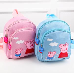 Rosa Wutz Rosa Pig - Rucksack Vorschule / Kita Tasche / Pepper Junge Mädchen