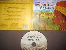 CD Women Of Africa Putumayo World Music Angélique Kidjo Souad Massi Latin Jazz