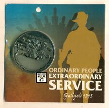 Ordinary People Extra Ordinary Service - Gallipoli 1915 Medallion (OOAK)