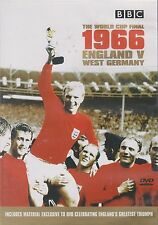 1966 WORLD CUP FINAL - ENGLAND vs WEST GERMANY. BBC Archive Footage (DVD 2002)