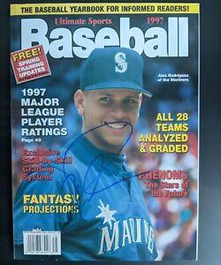 AUTOGRAPHED - Alex Rodriguez - Mariners Ultimate Sports Baseball 1997
