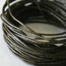 5 mètres de Fil Coton Ciré  Marron  0,5 mm