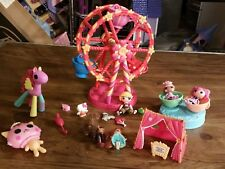 Mini Lalaloopsy Ferris Wheel Playset 3 Dolls & Pets