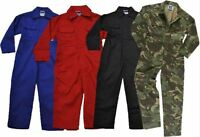 NEW Kids COVERALLS Childs Childrens BOYS & GIRLS Junior BOILERSUIT OVERALLS