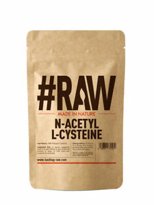 #RAW N-Acetyl L-Cysteine (NAC) 25g - Liver & Lung Support - UK Made