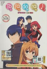 Anime DVD Toradora Vol.1-25 End + OVA English Dubbed