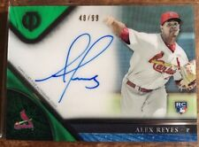 Alex Reyes• /99 On-Card Auto RC• 2017 Topps Tribute Refractor Rookie Autograph